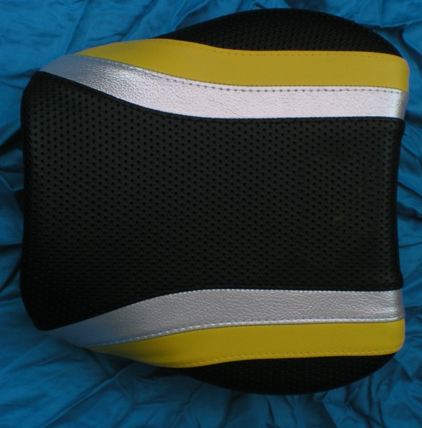 Wondrous Suzuki Tl1000R Custom Seat Cover No Logo Yellow Silver Black Machost Co Dining Chair Design Ideas Machostcouk